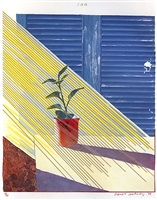sun by david hockney