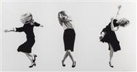 dancing trio ii by robert longo