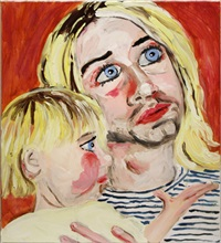 kurt and frances-bean by stella vine