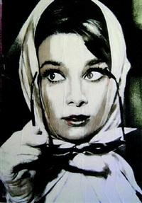 audrey scarf by sami akl
