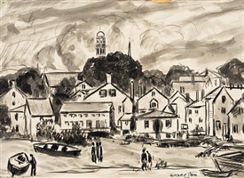 view of rockport by gifford beal