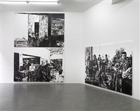 tate cafe, installation view, simon lee gallery by merlin carpenter
