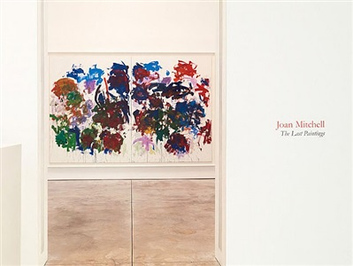 joan mitchell the last paintings by joan mitchell