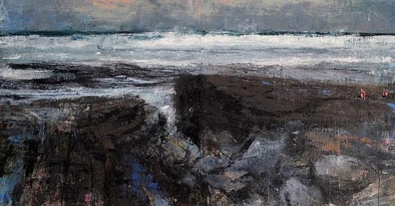 coastline iii by donald teskey