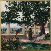 la terrasse a laudaun by albert andré