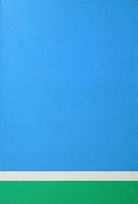 blue, green, white by ralph coburn