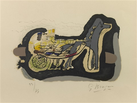 gélinotte by georges braque