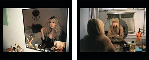 joey in my mirror 1992/1999 by nan goldin