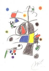 maravillas con variaciones acrósticas en el jardín de miró (xvii) by joan miró