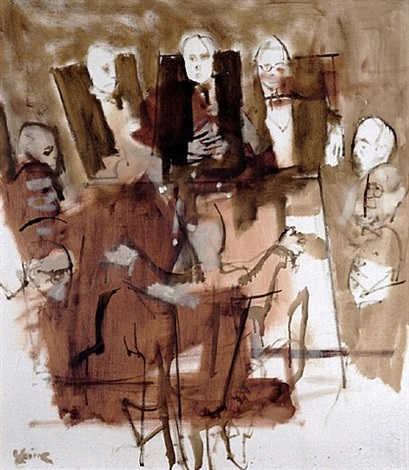 board room by jack levine