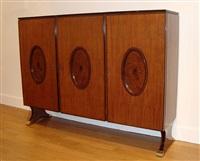 meuble de rangement / refined cabinet by paolo buffa
