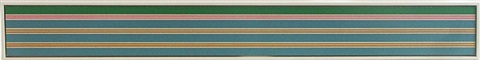 twin planes by kenneth noland