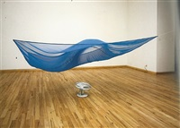 installation view, karsten schubert gallery by hans haacke