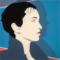 lisa ii, 1983 by patrick nagel