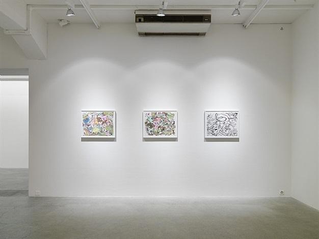 exhibition view galerie eva presenhuber by sue williams