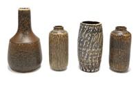 vessels (set of 6) by rörstrands porslinsfabriker (co.)