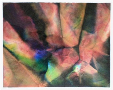 untitled abstract by sam gilliam