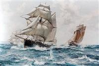 a running fight by montague dawson