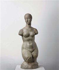 small female torso (hagen torso) by wilhelm lehmbruck
