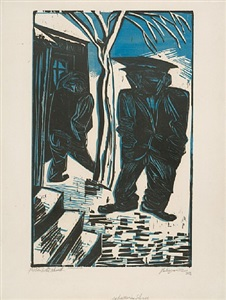 ifpda print fair new york by lyonel feininger