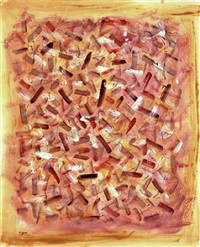 space rhythms by mark tobey