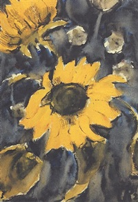 sonnenblumen by christian rohlfs