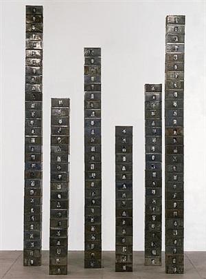 reserve of dead swiss (one's not dead) by christian boltanski