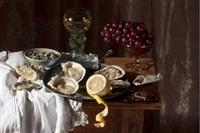 oysters, d'après willem claesz heda, 2010 by paulette tavormina