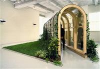 pergola/conservatory by dan graham