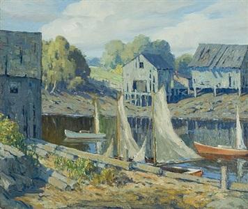 sailboats by george j. stengel