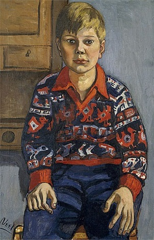 carl granich by alice neel