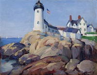 eastern point lighthouse, gloucester by leon kroll