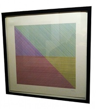 square divided diagonally by sol lewitt