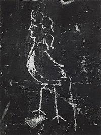 graffiti de la série viii, la magie: la harpie by brassaï
