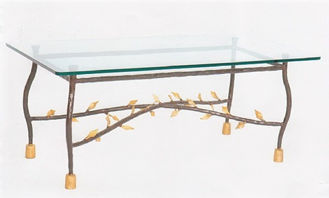 table basse « feuilles » by elizabeth garouste and mattia bonetti