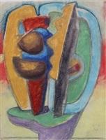 etude pour sculpture ubu-panurge by le corbusier