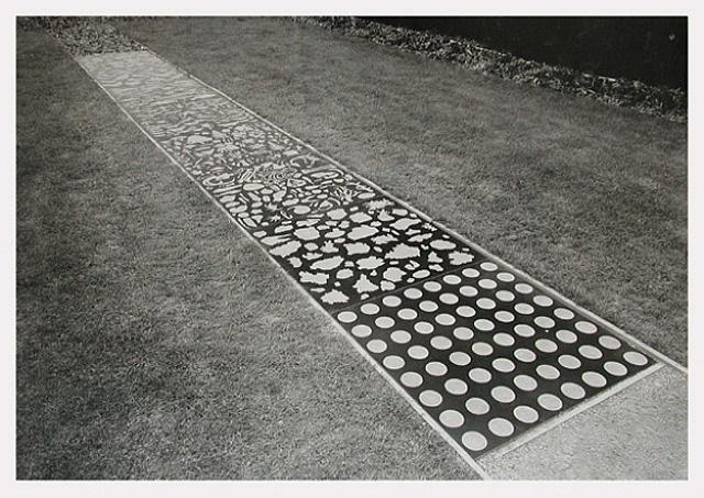 untitled (evolutionary chart; etched granite) by matt mullican