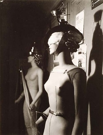 résurrection des mannequins: mannequin by yves tanguy by man ray