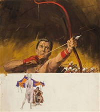 the parthian, paperback cover by robert kennedy abbett