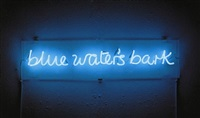 blue water's bark by ian hamilton finlay