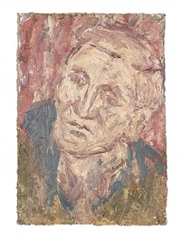 head of john i by leon kossoff