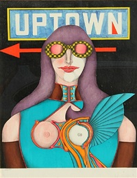 uptown by richard lindner