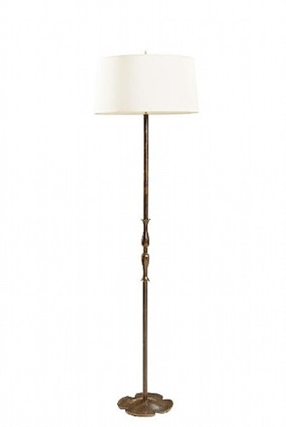 lotus floor lamp by gino scarpa