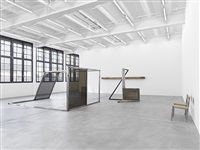 exhibition view galerie eva presenhuber 2012 by oscar tuazon