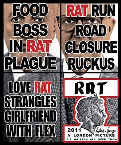 rat by gilbert and george