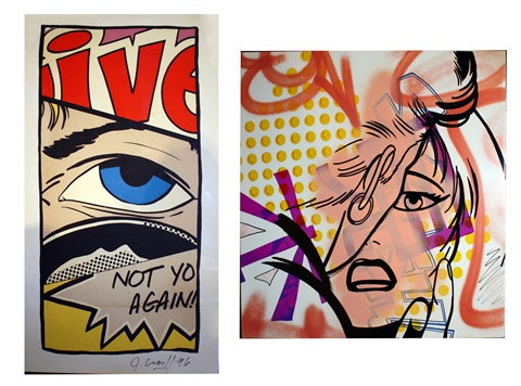 face not you again 2 works by crash