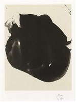 nocturne ii, from the octavio paz suite by robert motherwell