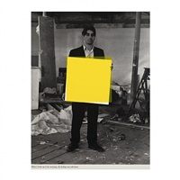 when i woke up in the morning...yellow by angus fairhurst