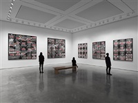 'london pictures' installation view by gilbert & george