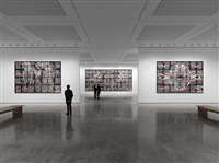 'london pictures' installation view by gilbert and george